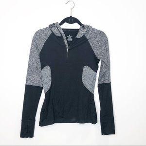 Sweaty Betty 3/4 Zip Hooded Athletic Jacket